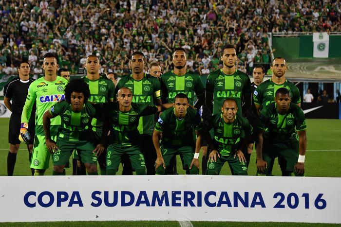 Chapecoense de Brasil fue declarado campeón de la Copa Sudamericana