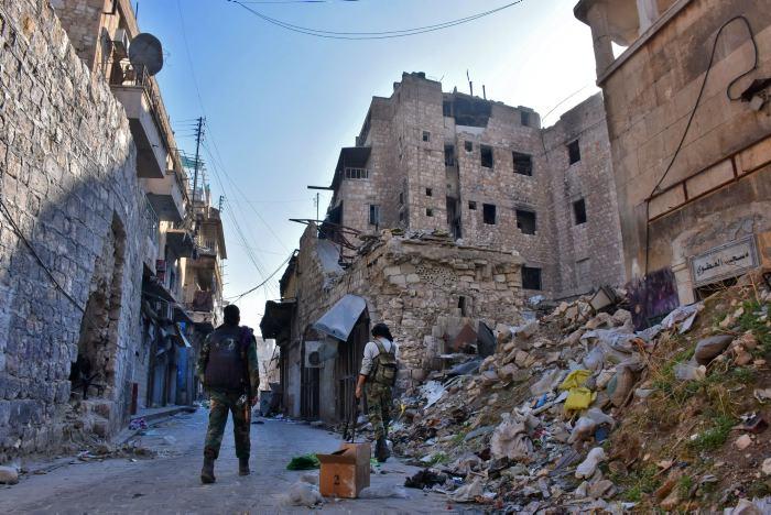 Retirada de Estado Islamico de Palmira