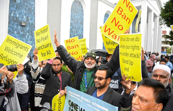 Protestas contra Trump se realizan en Londres, Berlín y París