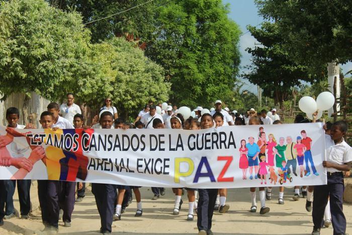 """""""No queremos un nuevo desplazamiento en Arenal del Sur"""" - El Universal - Colombia"""
