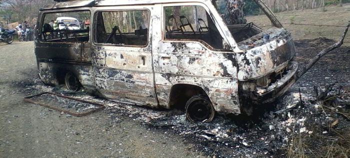 Se quemó ruta escolar en San Andrés de Sotavento - El Universal - Colombia