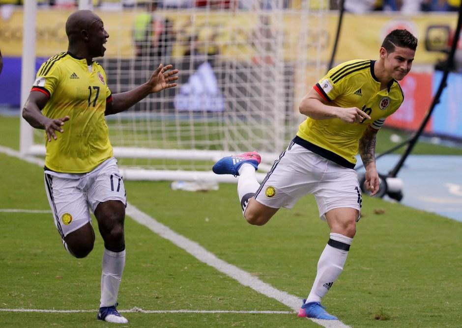 Selección de Colombia espera clasificar para Mundial Rusia 2018