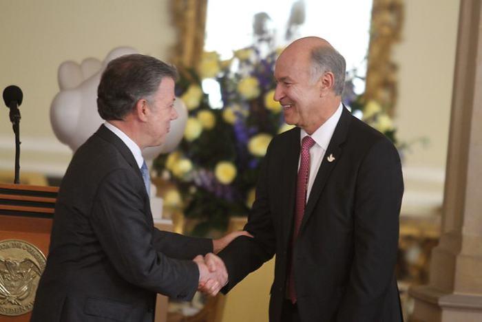 En la Casa de Nariño se realizó la posesión del Ministro de Justicia Enrique Gil. / //Colprensa