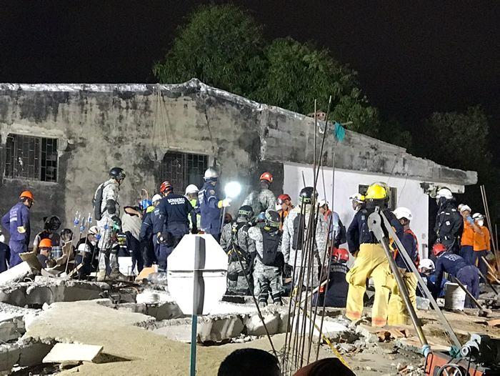 Tres personas murieron tras colapso de edificación — Cartagena