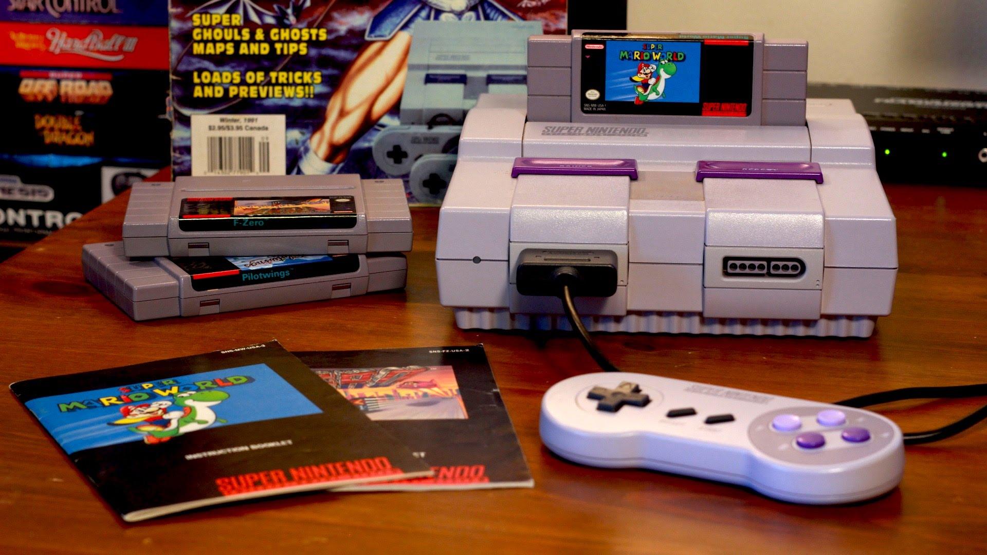 [Rumor] Nintendo lanzaría la SNES Mini antes de Navidad