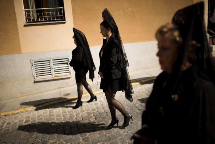 Ocho detenidos en España por estampidas en Viernes Santo