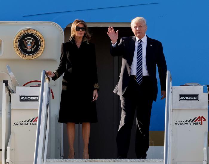 #Video Melania se rehusa de nuevo a darle la mano a Trump