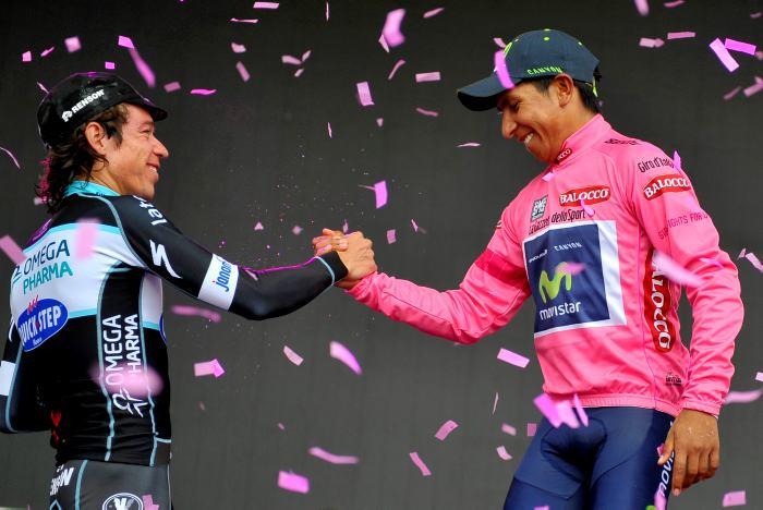 Quintana se ve en 'el camino correcto' para el doblete Giro-Tour