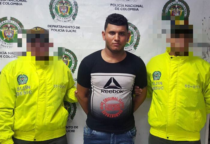 Capturan presunto asesino de un policía en Sincelejo