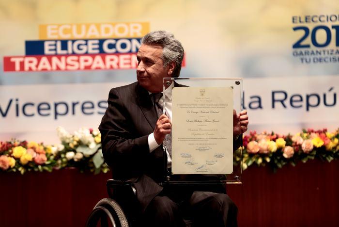 [ 24 Mayo, 2017 ] Asume la presidencia de Ecuador Lenín Moreno LATINOAMÉRICA