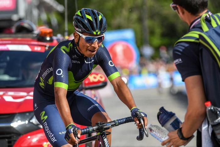 Líder del Giro de Italia paró momentáneamente por culpa de una diarrea