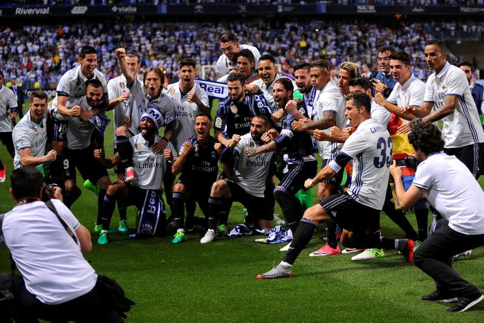 Conquista Madrid su Liga 33 de España