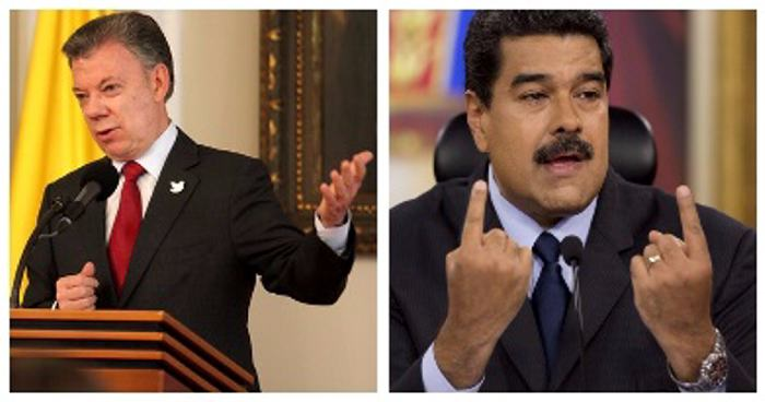 Dedícate a gobernar y resolver tus asuntos en Colombia — Maduro a Santos