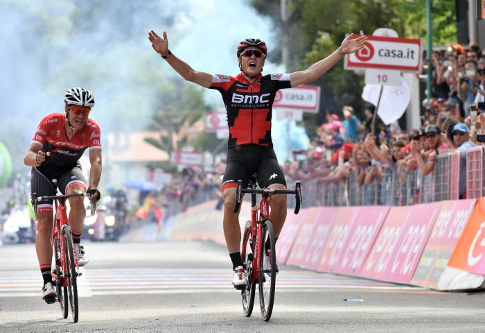 Dillier gana la etapa 6 — Giro de Italia