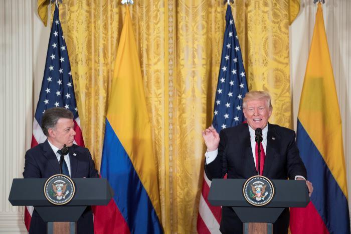 Santos visita a Trump tras acuerdo de paz en Colombia