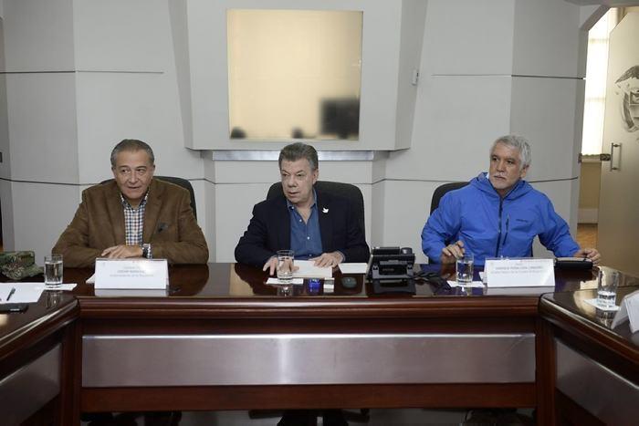 Presidente de Colombia pide serenidad y unión tras atentado en Bogotá