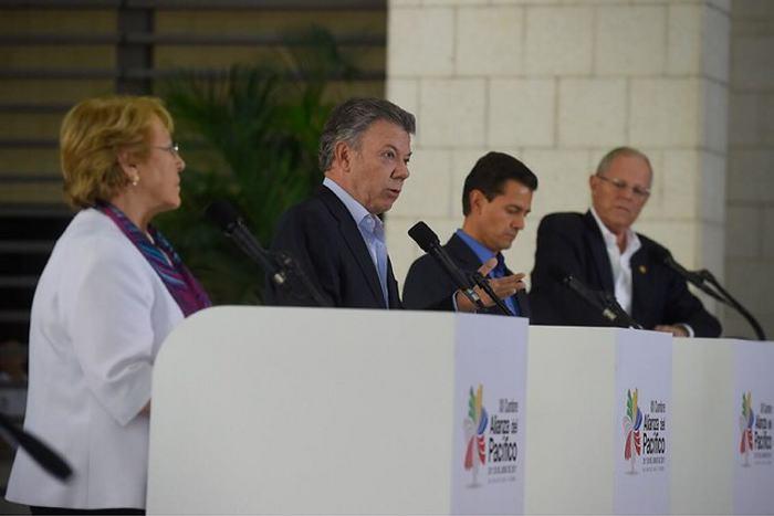 Presidentes de Alianza del Pacífico sostuvieron encuentro privado — PERÚ