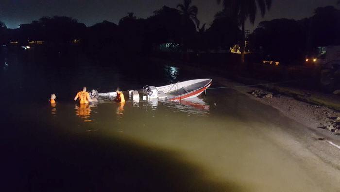 Accidente en lancha deja cinco heridos y dos desaparecidos — Cartagena