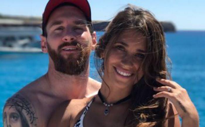 Lionel Messi y Antonela disfrutan de su luna de miel