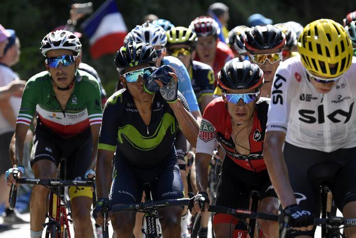 Fabio Aru se llevó la quinta etapa del Tour de France