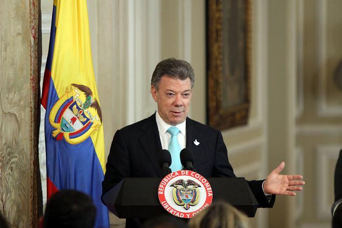Santos sanciona nueva Ley de Extinsión de Dominio