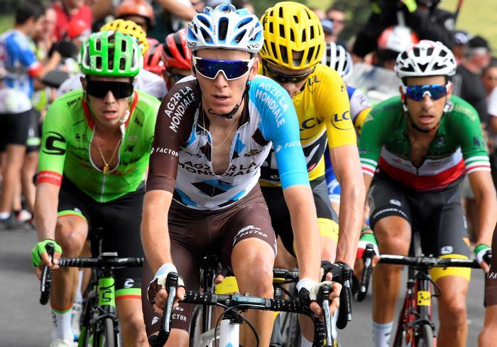 Francés Barguil gana una etapa con final impactante — Tour de Francia