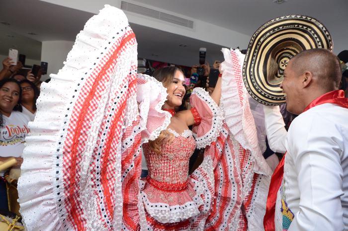 Valeria Abuchaibe Rosales, nueva reina del Carnaval de Barranquilla ...