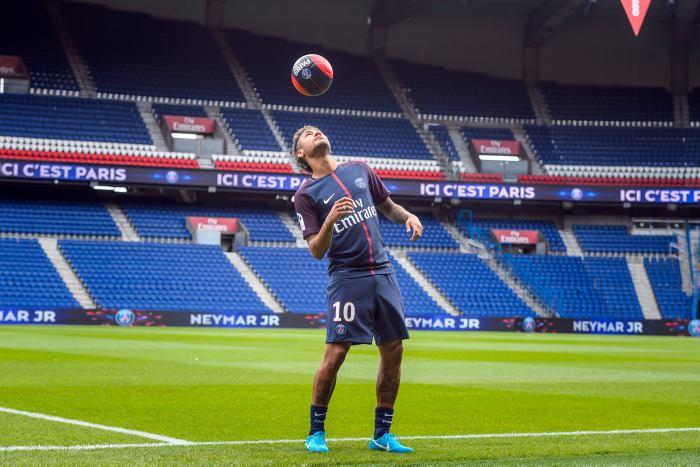 #VIDEO Neymar es presentado con el PSG