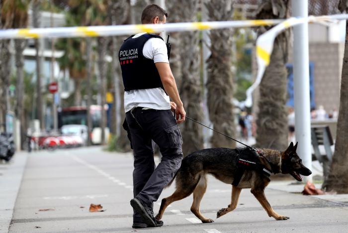 Presunto autor prófugo del atentado en Barcelona podría estar armado