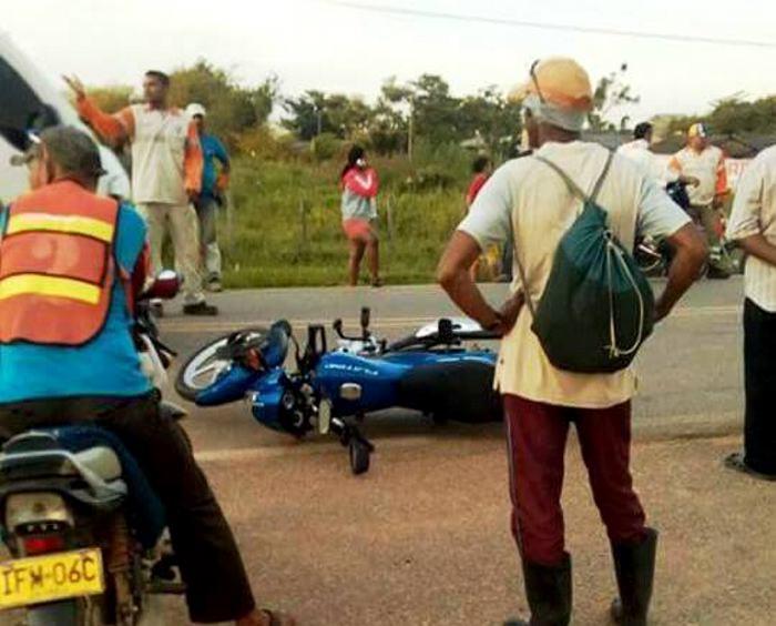 Una persona muerta tras accidente de motos en San Marcos | Choque de ...