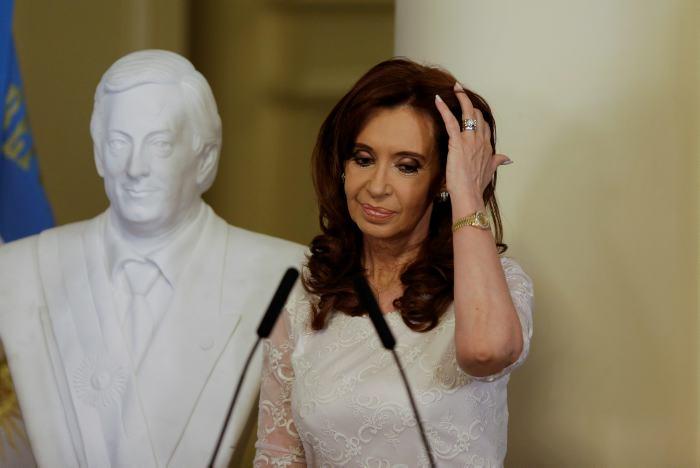 Cristina, sobre Nisman: