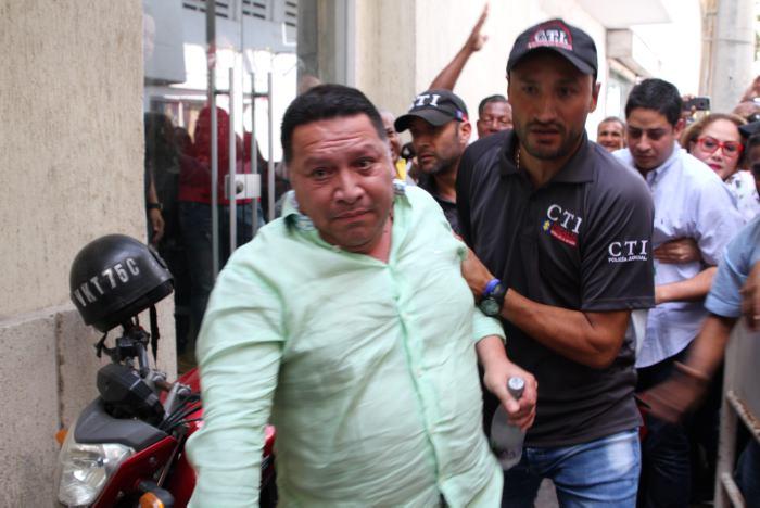 Enviado a la cárcel el suspendido alcalde de Cartagena, Manuel Vicente Duque