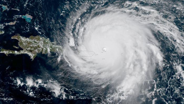 Antigua y Barbuda casi destruida por Huracán Irma