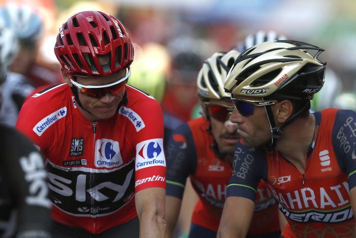 Chris Froome está cerca de ganar su primera Vuelta a España