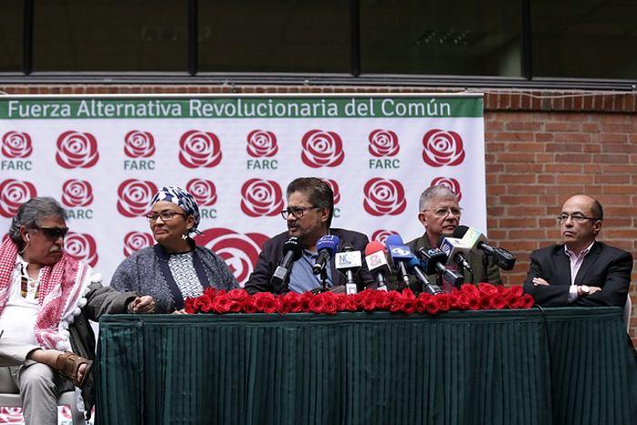 Las Farc inscribieron su partido ante el CNE