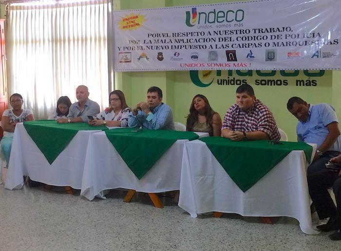 Undeco anuncia marcha de comerciantes para el 24 de octubre en ...