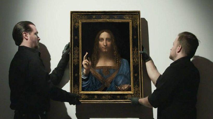 Subastan en 450 millones de dólares pintura de Leonardo Da Vinci