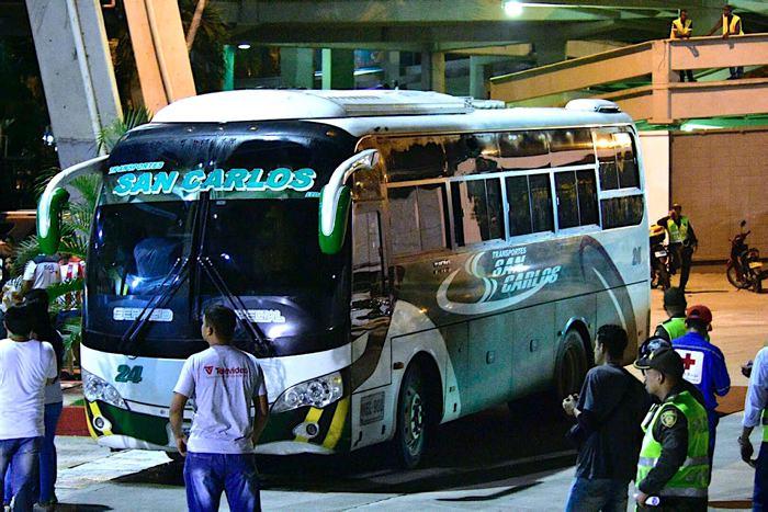 Suspendido el Junior-Pasto por ataque al bus visitante