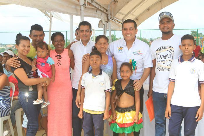 Navidad y año nuevo con casa propia para 212 familias en Turbaco ... 59a420e535e