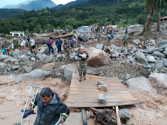 Fiscalía colombiana imputará cargos a funcionarios por la avalancha de Mocoa
