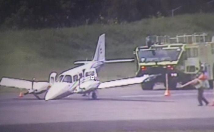 Cierran aeropuerto Olaya Herrera de Medellín por aterrizaje de emergencia