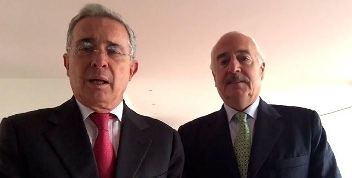 Se consolida alianza entre Uribe y Pastrana