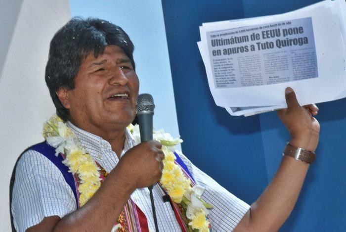 Morales a EEUU: Estoy decidido a participar en comicios de 2019