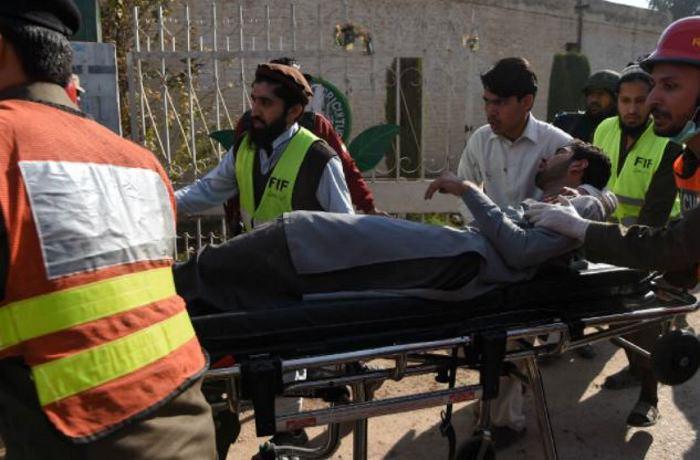 Al menos once heridos tras ataque a Universidad de Peshawar en Pakistán