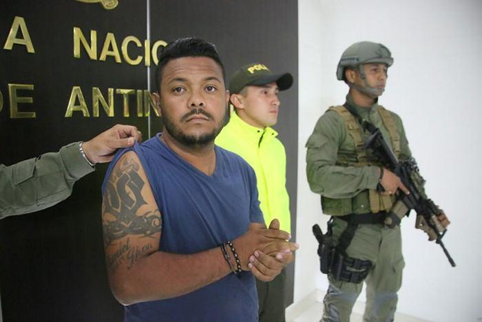 Capturado alias 'Dago', lugarteniente del narcotraficante mexicano alias 'Fakir'