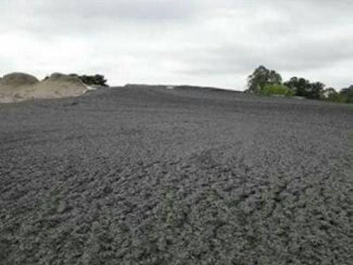 Volcán de lodo hizo erupción en Canalete, Córdoba