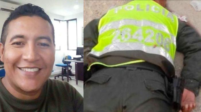 Por la espalda asesinan a policía en Chigorodó