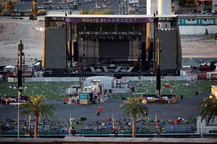 Autor del tiroteo en Las Vegas tenía pornografía infantil