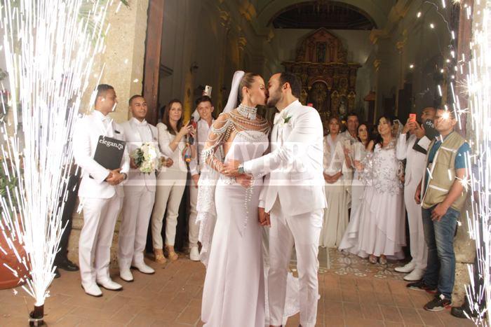 Así fue la segunda boda de Paula Andrea Betancourt