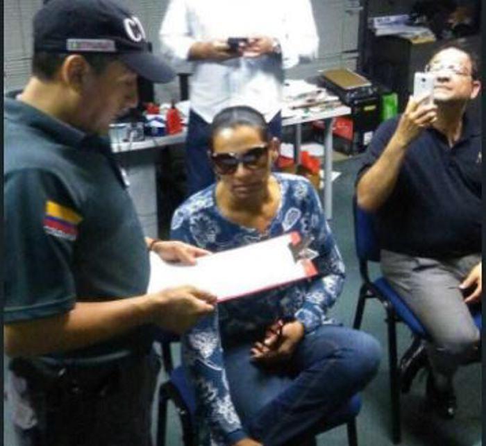Se entregó una de las líderes de 'clan Quiroz' en Cartagena